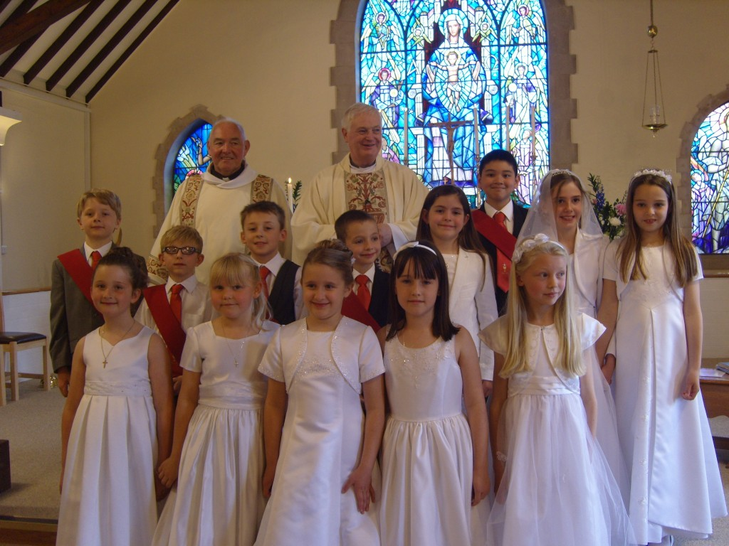 First Holy Communion Children from Holy Family 2012