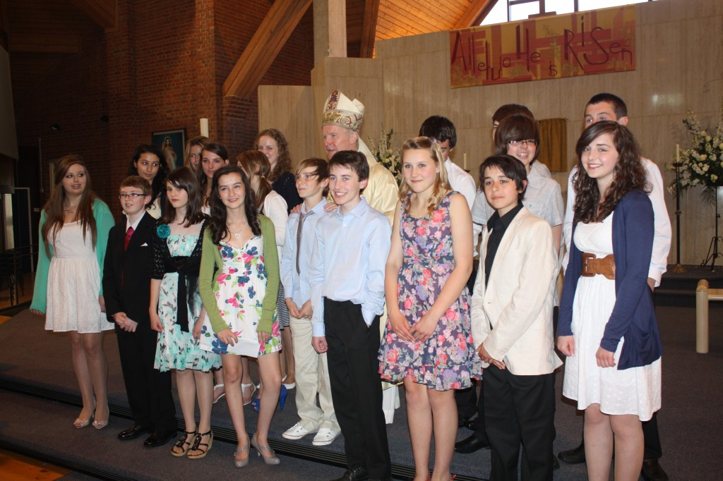 Confirmation Group 2012